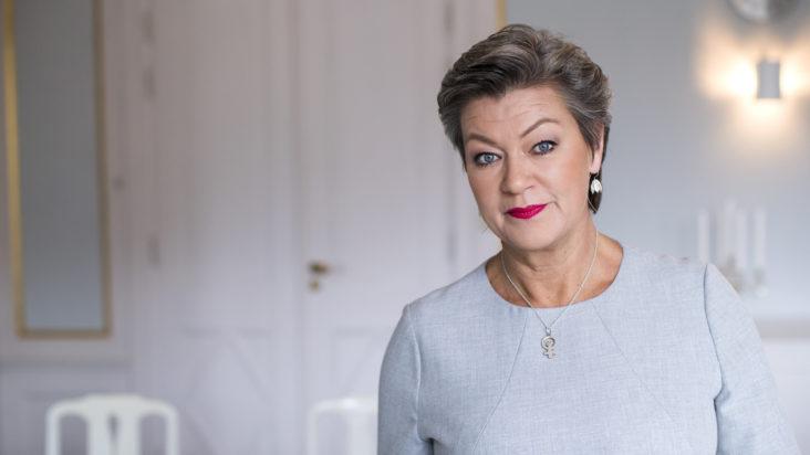 Arbetsmarknadsminister Ylva Johansson Etableringsminister Arbetsmarknadsdepartementet Statsråd